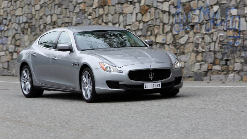 The Maserati Quattroporte Is A Rich Young Woman's Car In China
