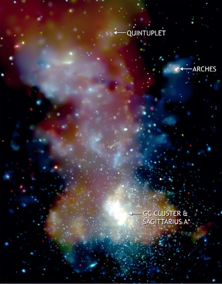 Has the Milky Way devoured other galaxies?