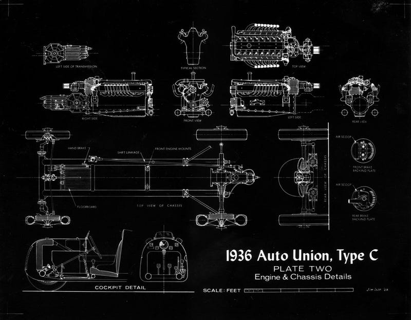 The 1936 Auto Union Type C Unpeeled