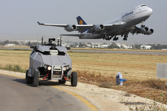 Autonomous Guardium UGV Buggy Tirelessly Patrols Danger Zones So You Don't Have To