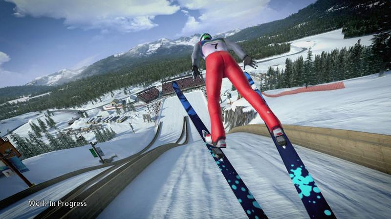 Sega Does the 2010 Vancouver Winter Olympics