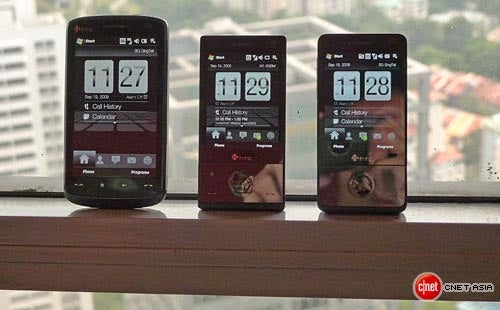 Family Portrait: HTC Touch Phones