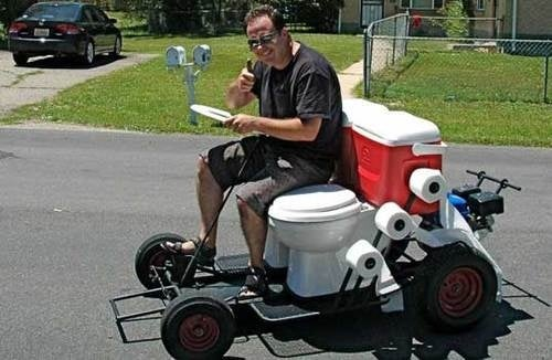Witness, The Greatest Toilet-Based Vehicle Ever Constructed