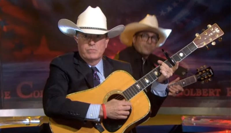 """Stephen Colbert Sings """"The Ballad of Cliven Bundy"""""""