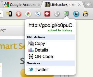 Goo.gl URL Shortener Is a One-Click URL Shortener and QR Code Creator for Chrome