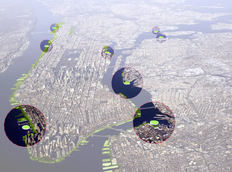 These Compost Islands Would Turn NYC's Garbage Into Gold