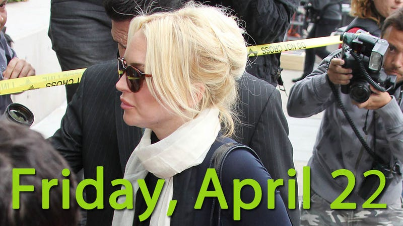 Lindsay Lohan Is Back In Jail
