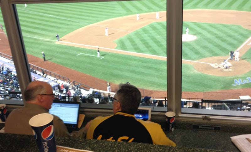 Here's An Unverified Story About Keith Olbermann Being Obnoxious At A Mets Game [Update]