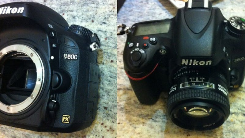 Rumored Photo Leak Teases Nikon D600 DSLR: Full Frame, Low Price