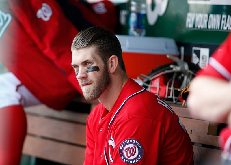 "Bryce ""Nothing But Hustle"" Harper Benched For Lack Of Hustle"