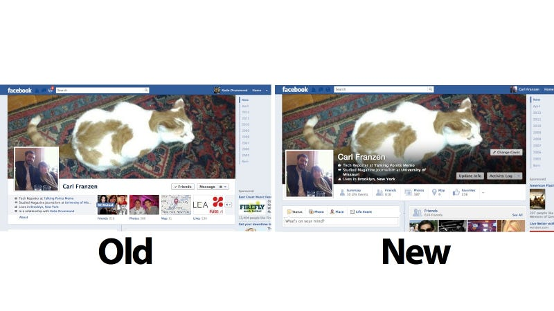 Facebook Testing New Profile Look You Might Hate (Again!)
