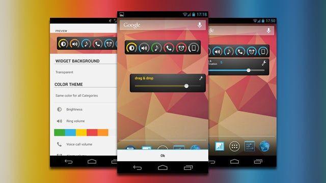 Slider Widget Controls Android's Multiple Volume Levels in One Place