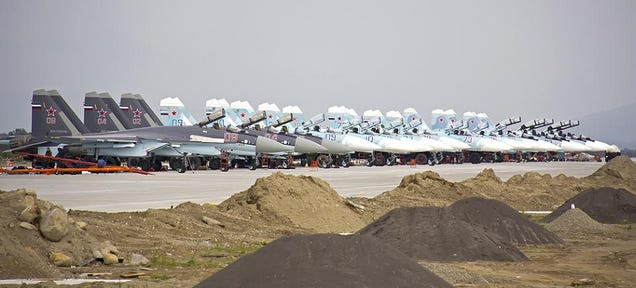 Those Photos Of Superflankers And Advanced SAMs In Crimea Are Bogus