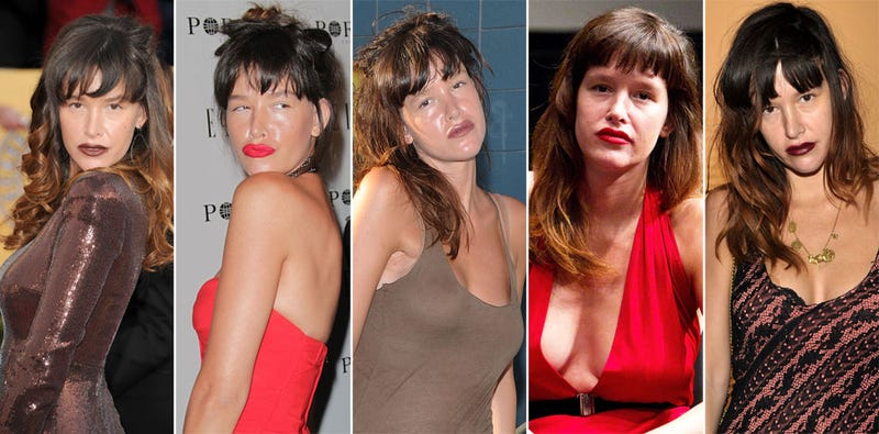 Why Does Paz de la Huerta Always Match Her Lipstick to Her Dress?