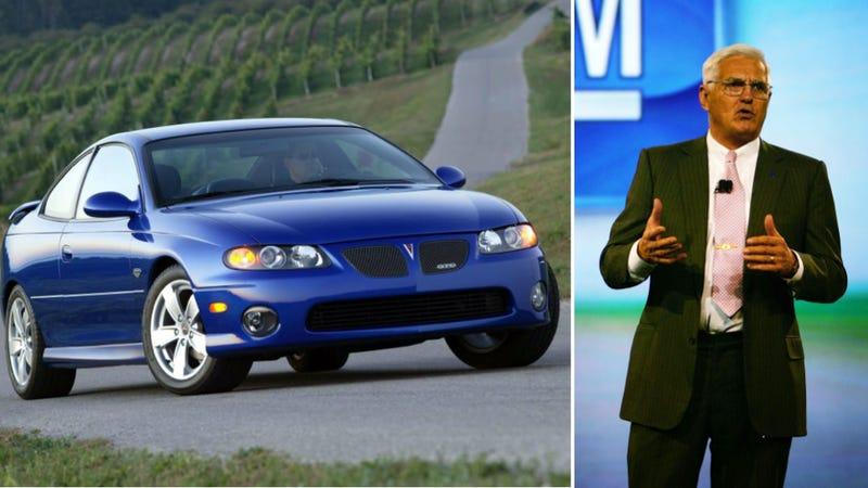 Get Sad Because Bob Lutz Says Pontiac Was Going To Make A New GTO