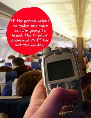 Should Congress Ban Cellphone Calls on US Flights?