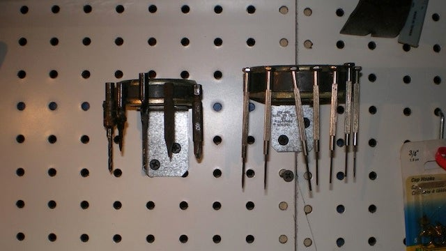 Use Magnets to Keep Small Tools Organized