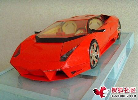 Cigarette Box Lamborghini Reventon Smokes The Matchstick F1 Car