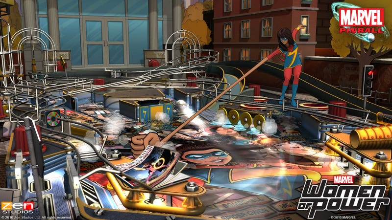 Playing Pinball With Marvel Comics' Women Of Power