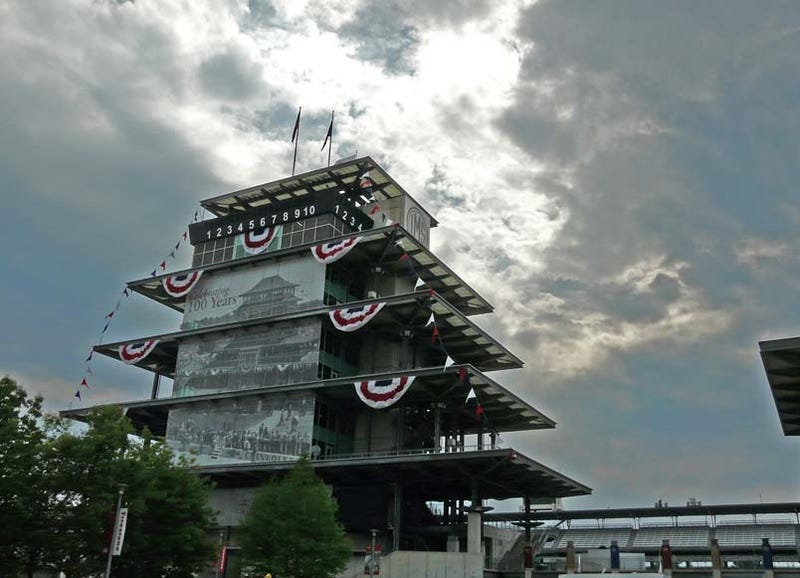 Indy 500: We're Here!
