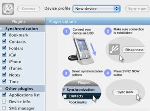 Sync Your Windows Mobile Device and Mac with SyncMate