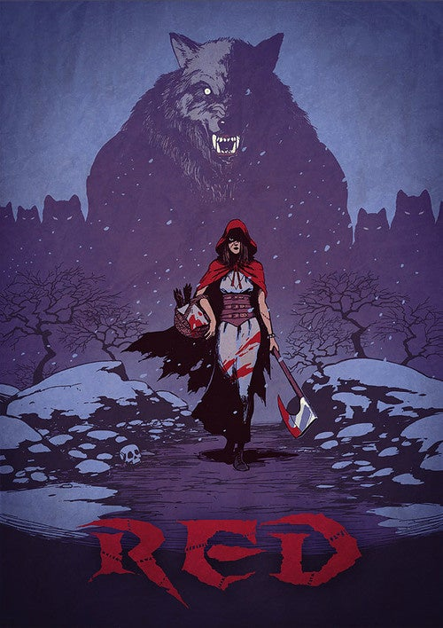 The Warped Little Red Riding Hood Art We Hope Amanda Seyfried's Film Channels