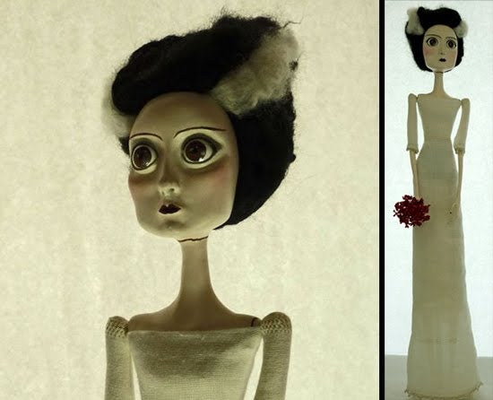 The Bride of Frankenstein is ready for her honeymoon after 75 years