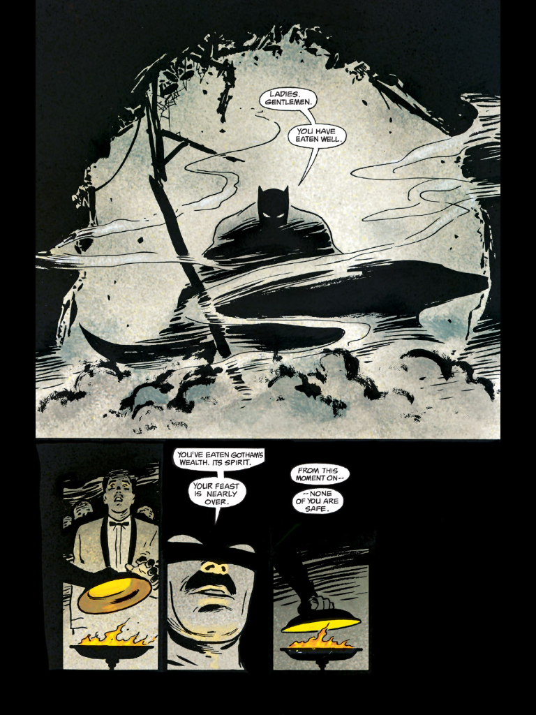 The Batman Comics Sequence You Think Best Sums Up the Dark Knight