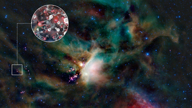 This Sun-like star is surrounded by sugar