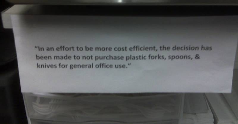 Stupid Cost-Cutting Tricks: You Are Not Appreciated