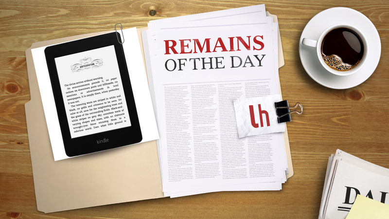 Remains of the Day: The Kindle Comes to Canada