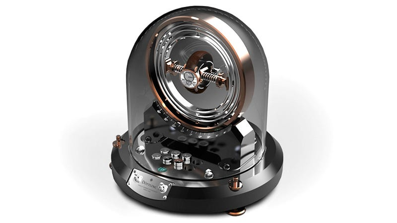 Is This an Over-the-Top Watch Winder, a Spaceship, Or a Time Machine?