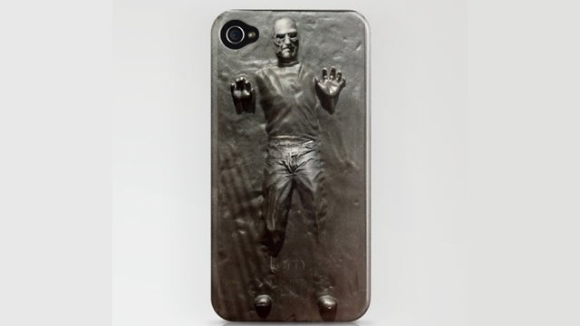 Steve Jobs Trapped in Carbonite iPhone Case: Ice Cold