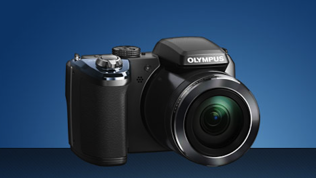 Olympus's New 40X Superzoom Camera Will Let You Snap All The Long Distance Myspace Poses You Desire
