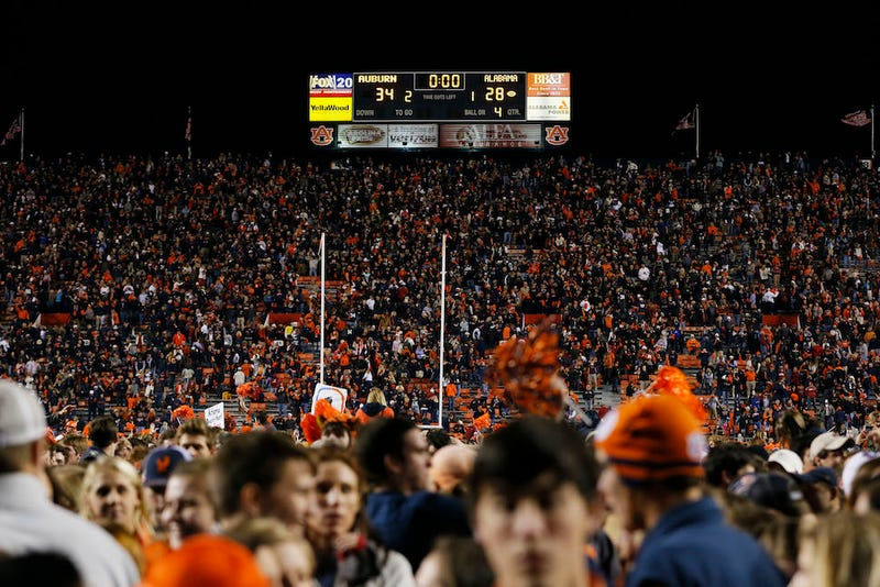 Alabama Fan Charged With Murder Of Fellow Fan After Loss To Auburn