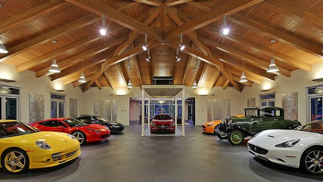 this 4 million garage comes with a very nice house