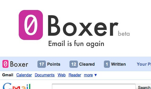 0Boxer Turns Inbox Zero into a Game in Gmail