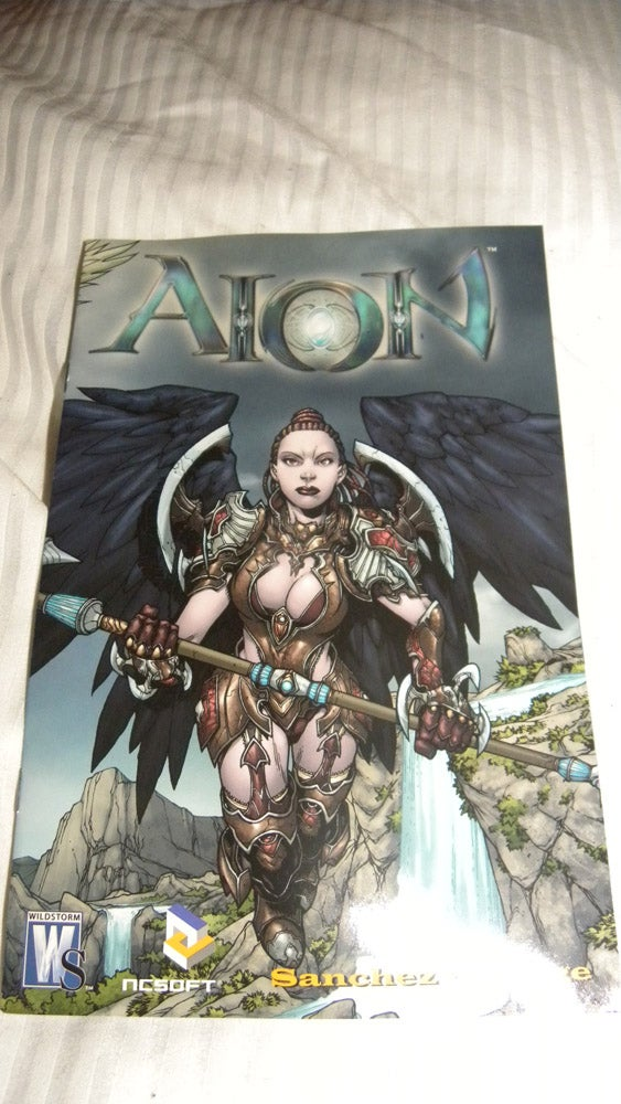 What's Inside The Aion Launch Party Goody Bag?