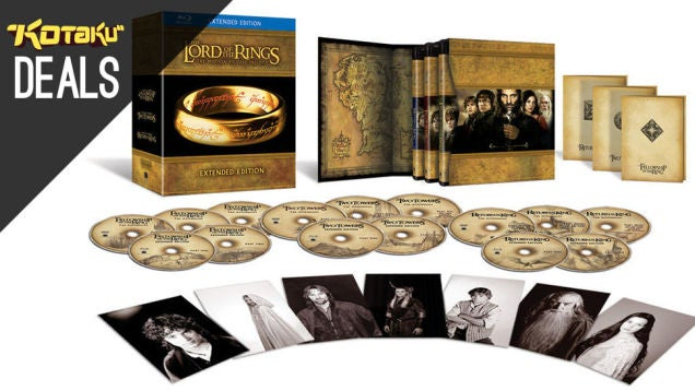 Deals: Lord of the Rings Extended, LIVE Credit, Filler Bunny, Batman