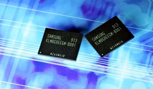 Samsung Ships First 32GB moviNAND Chips (Translation: More Storage In Your Pocket, Sooner)