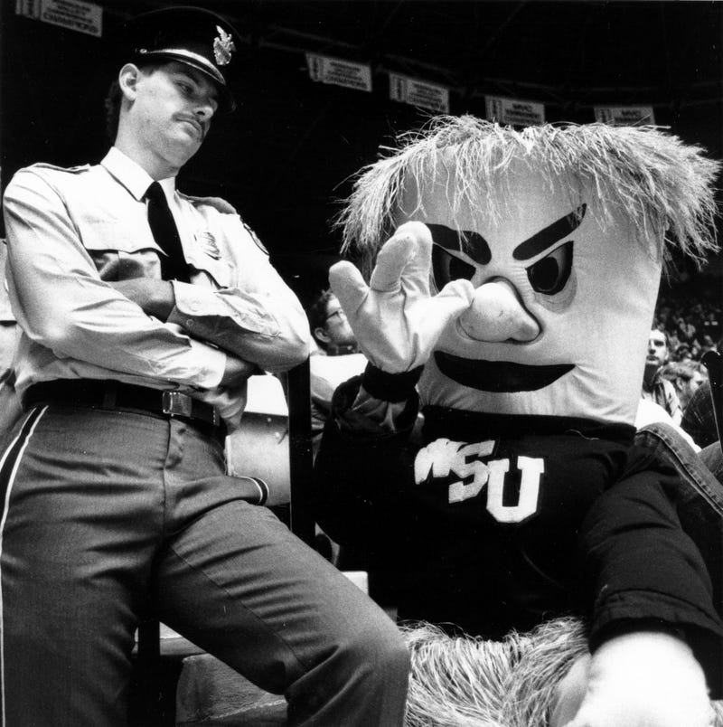 Wichita State's Mascot Has Been Creepy At Every Stage Of Its Evolution