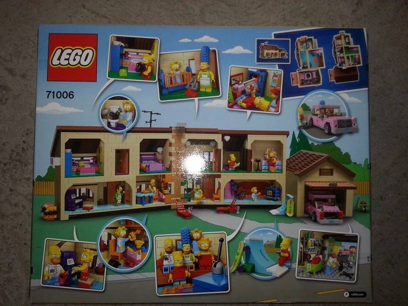 First Look at The Simpsons LEGO House is insanely detailed