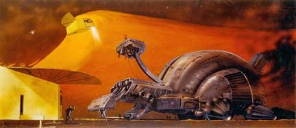A Gallery of Never-Before-Seen Concept Art from David Lynch's Dune