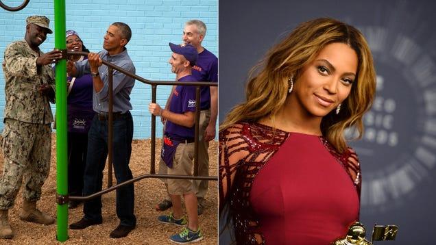 Little Girl Saddened to Learn That President Obama Isn't Beyoncé