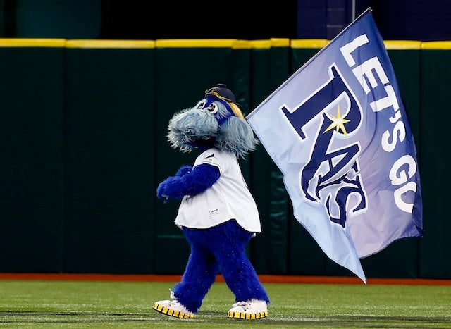 Red Sox Fan Arrested After Allegedly Grabbing Rays Mascot By The Neck