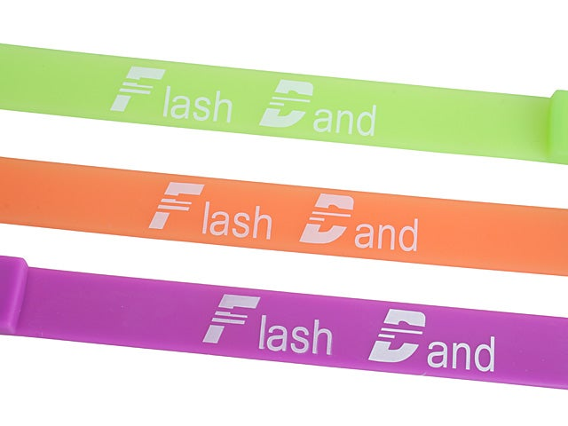 Flash Drive Wrist Band Can Store the Entire Contents of Its Wearer's Brain