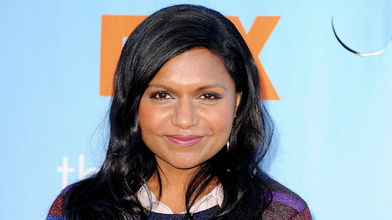 Mindy Kaling Likes to Stand Under Rihanna's Um-burrella for Inspiration
