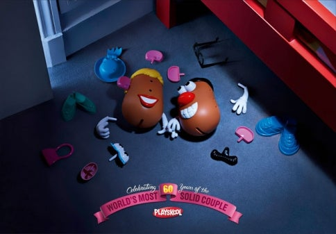 Mr. & Mrs. Potato Head Celebrate 60 Years of Mashing (and Are Probably Destroying Our Children)