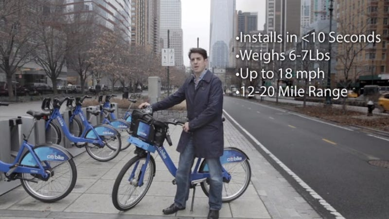 Kickstarter Aims To Make NYC's Citi Bikes Faster With Electric Motors