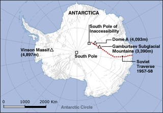 Researchers Probe the Mysteries of Antarctica's Hidden Mountains